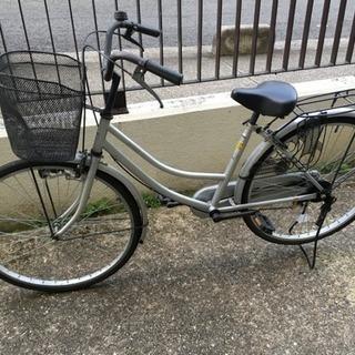シンプルなチャリが安い!配達可 26インチ ママチャリ 自転車 !...