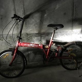 ジャンク! 折りたたみ自転車