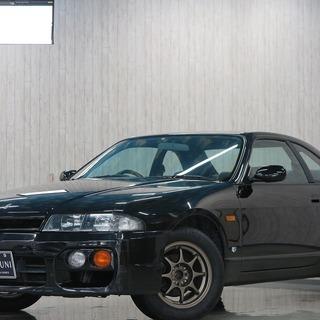 【誰でも車がローンで買えます】H8 スカイライン GTS 黒  完...