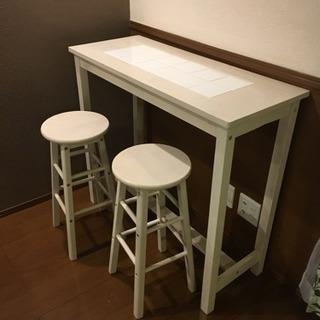 【期間限定】カフェ風 カウンターテーブル