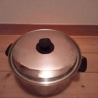 理研大型圧力鍋とビタクラフトの大鍋