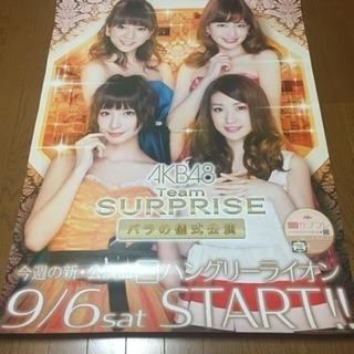 【非売品】AKB48 ポスター  Team SURPRISE バ...