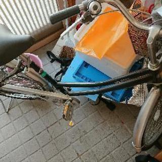 乗らなくなった自転車26インチ