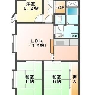和室 1室 洋室に改装済 初期費用5000円 ワンちゃん猫ちゃん大歓迎。