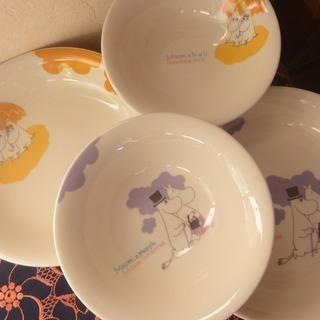 3c222 ムーミン 食器セット カレー皿 サラダ皿 新品 引取限定