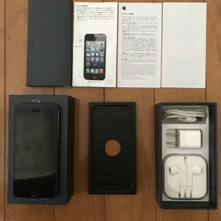 中古 iPhone5 iphone5 16g nd097j/a ...