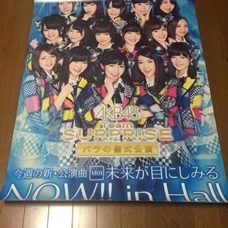 【非売品】AKB48 ポスター Team SURPRISE バラ...