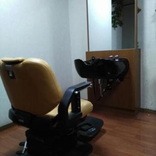 理美容シャンプーブース椅子セット