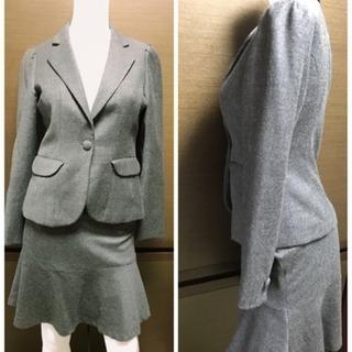 美品 スーツ秋冬用