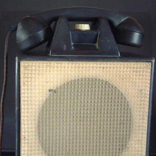 ★アンティーク 有線放送電話機★現NEC製品★1960年代かと★中...