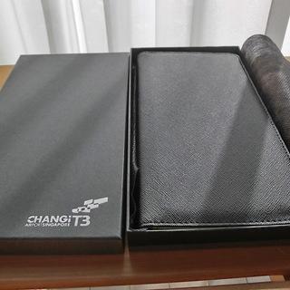 CHANGI空港パスポートケース 未使用 カードケース通帳ケース...