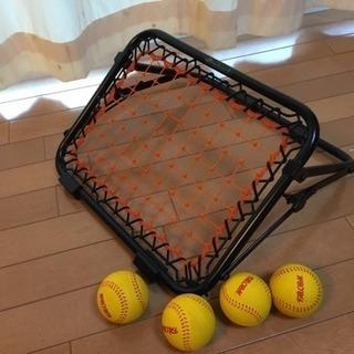 【値下げ!】 野球 ピッチ&キャッチ プロマーク 自宅練習に