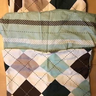 良い三点セット:枕カーバ、敷布団カーバ、布団カーバ