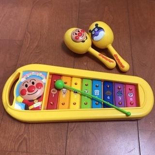 アンパンマン 楽器とピコピコハンマー