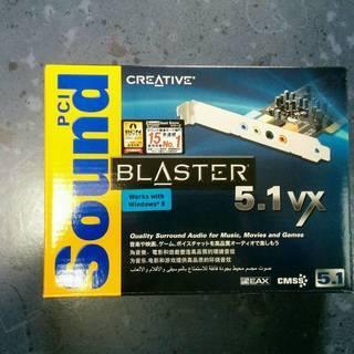 CREATIVE製Sound BLASTER 5.1VX