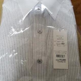 値下げ❗️❗️新品未使用品❗️長袖カッターシャツ!L(41)-82
