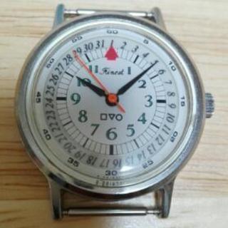ジャンク品!腕時計(5)Q&Qゼンマイ式