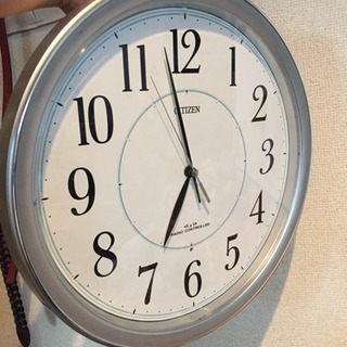 【受付再開】掛け時計 CITIZEN ネムリーナ