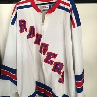 NHL ニューヨークレンジャーズレプリカジャージ