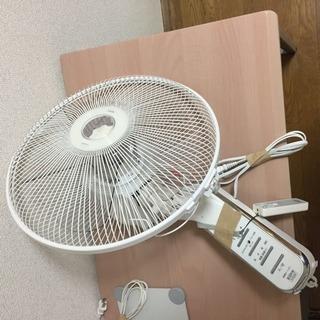 壁・扇風機