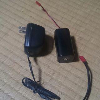 エンジンカー用 充電 パック 中古 中の電池は無し