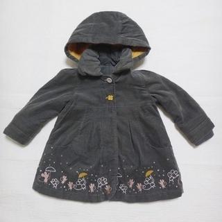 (中古)フランスの子供服コート2歳86cm(85~90)