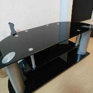 値下げ大至急☆ガラス テレビボード 譲ります