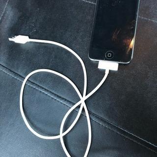 iPodtouch 8GB 初期化済 USBケーブルつき