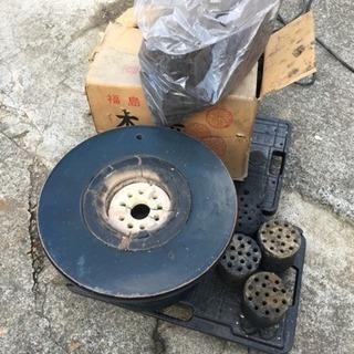 七輪 炭 木炭セット 暖炉 火鉢 陶器