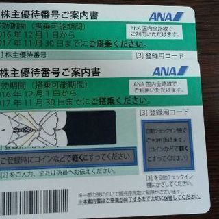 ANA 株主優待券 値下げ