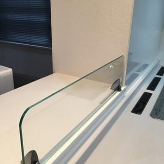 《寸法自由オーダーガラス施工》ガラス電気専門店 レックス宇都宮