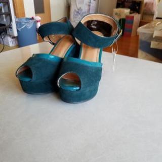 未使用 靴