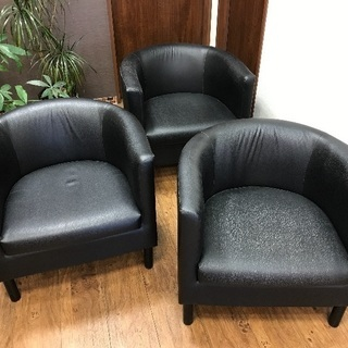 IKEA 一人がけソファ SOLSTA OLARP ②