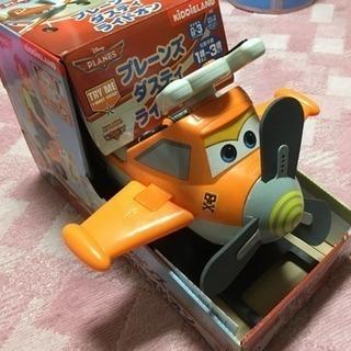 値下げ☆プレーンズ ダスティ ライドオン 乗用玩具 足けり 押し車