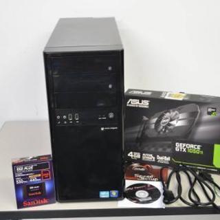 自作PC WIN7/10 新品GTX1050TI/新品SSD24...