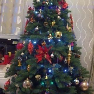 198cmクリスマスツリー(ヌードツリー)コストコ本格仕様