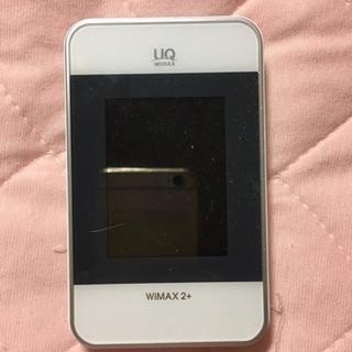 ポケットWi-Fi 本体のみ WiMAX2+対応