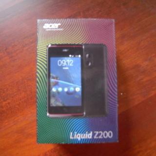 【中古】Acer Liquid Z200 Android 4.4...