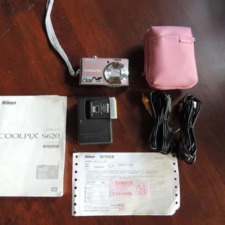 【中古】Nikon COOLPIX S620 デジタルカメラ