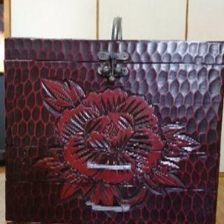 鎌倉彫りの化粧箱