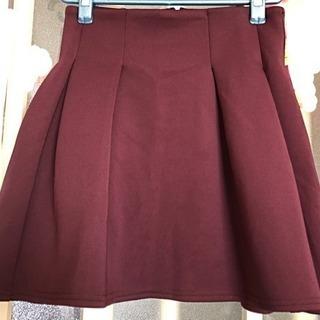 ジーユーGU紫スカート未使用☆