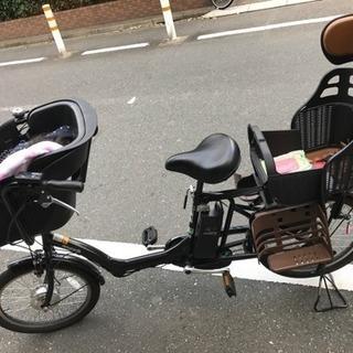 電動自転車 子供乗せ付き