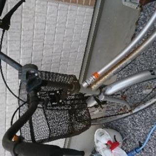 自転車(パンクあり)