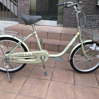 自転車20インチ 美品