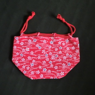 <値下げしました>【未使用】 巾着 和装用 バッグ の画像