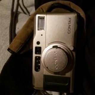 フィルムカメラ contax t vs