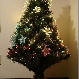 クリスマスツリー☆光ファイバー
