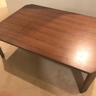 折りたたみ 木製 テーブル・ローテーブル