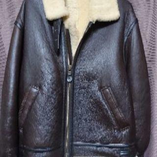 羊革 ボンバージャケット
