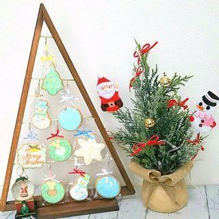 クリスマスのアイシングクッキー作り
